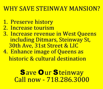 steinway mansion under contract