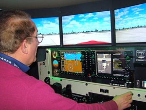 flight simulation queens ny