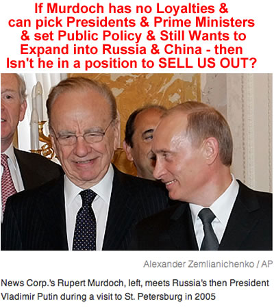 rupert murdoch election tampering
