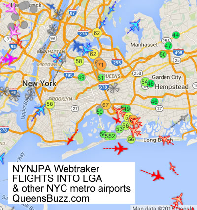 airplane noise nyc jfk lga laguardia airport airplane noise