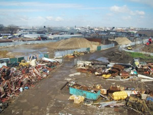 willets point clean up has begun 2011
