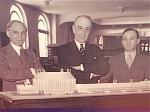 henry ford edsel ford photo & rufus dawes 1939 worlds fair nyc