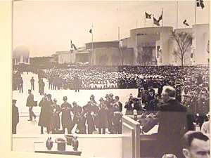 first public television broadcast in world fdr 1939 nyc worlds fair